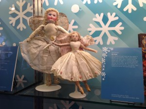 Christmas tree angels in the 26 Children's Winters exhibition