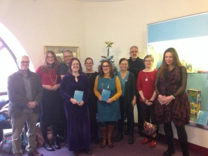 Writers at 26 Winters Exhibition