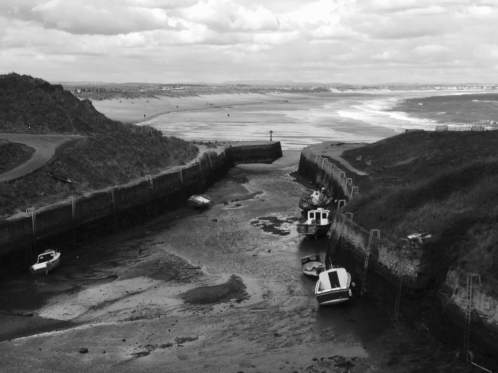 Harbour mouth at Seaton Sluice