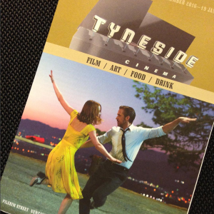 Tyneside Cinema programme featuring La La Land
