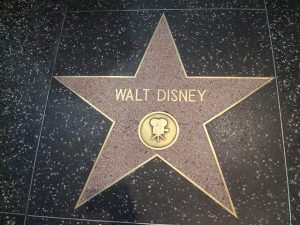 Walt Disney Star on the Hollywood Walk of Fame