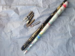 Calligraphy nibs and holders from creative-calligraphy.com
