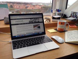 Wordstruck writing desk