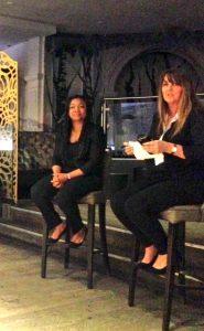 Griselda Togobo and Antonia Brindle of Forward Ladies network